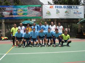 Realejos en las pasadas VIII Jornadas de Fútbol Sala de Hermigua 2008