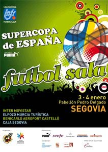 Cartel de la Supercopa 2008