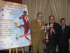 Acto Copa Femenina de Fútbol Sala Femenino 2009