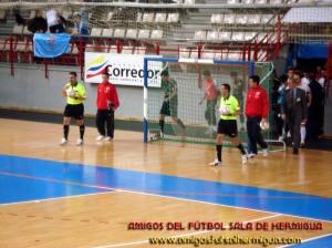 Garcia y Castro en el pasado partido entre Carnicer y CajaSegovia