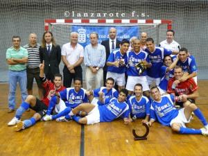 Celebrando el Campeonato de Canarias