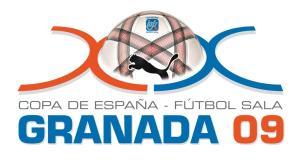 Logo de la Copa de España de Fútbol Sala Granada 2009