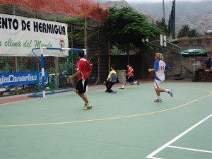 Imagen de las pasadas Jornadas de Futbol Sala de Hermigua 2008