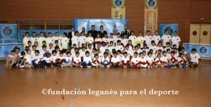 Foto del todos los participantes en el Clinic (Leganés - Madrid)