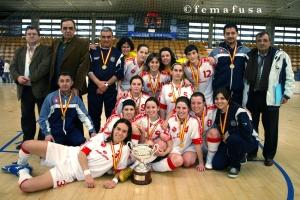 Selección de Madrid Campeona de España