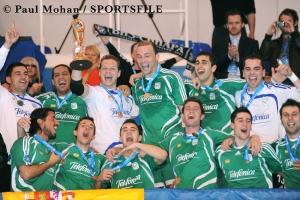 Celebración UEFA Futsal Cup