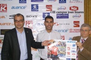 Presentación del III Campus de Fútbol Sala Joan Linares