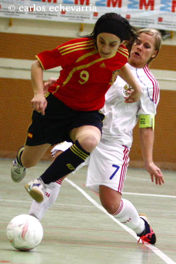Victoria por 6 a 1 de la selecci n espa ola ante rusia de for Federacion espanola de futbol sala