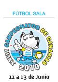 Logo Campeonato Canarias Futbol Sala 2010