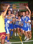 Ermita San Cristobal campeón de las X Jornadas de Fútbol Sala de Hermigua 2010