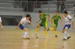 Imágen del partido de la primera vuelta Galdar FS - Ribera Navarra FS