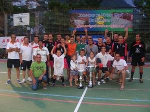 Campeon y Subcampeon en la edición de 2010