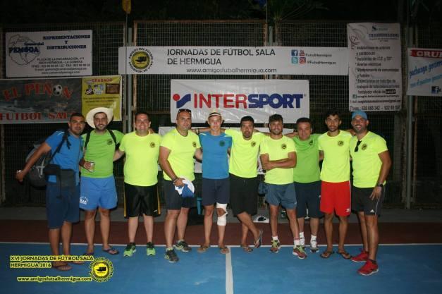 Organizacion Amigos del Futbol Sala de Hermigua 2016