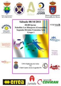 Segunda División Fútbol Sala CFS Chaboyme Arico - Club Cuatro Arcos Logroño FS