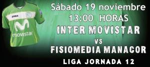 Inter Movistar - Fisiomedia Manacor