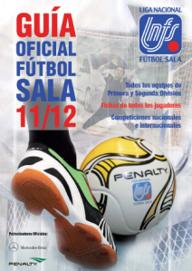 Guia Liga Nacional de Fútbol Sala 2011-2012