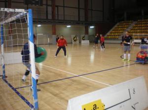 Entrenamiento Selección Española de Fútbol Sala