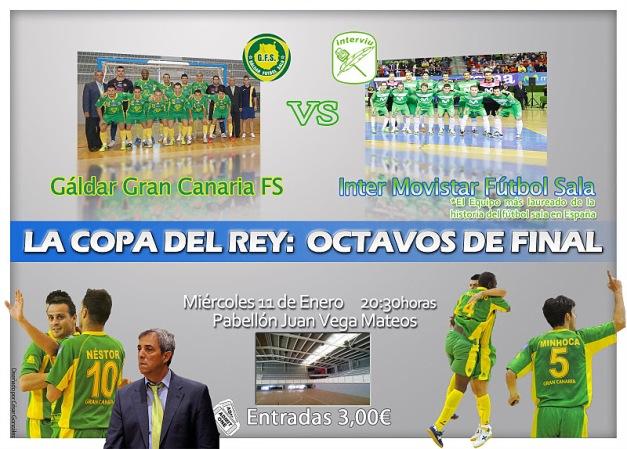 Copa del Rey: Colegios Arenas de Galdar FS - InterMovistar FS