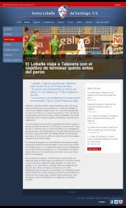 El Lobelle viaja a Talavera con el objetivo de terminar quinto antes del parón