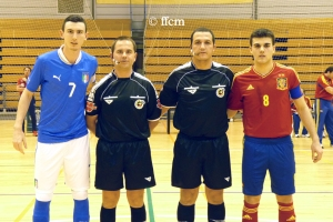 Amistoso - España - Italia Futsal Sub21