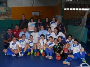CFS Chaboyme Arico Futsal Femenino 11-12