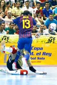 Copa del Rey 2012 - ElPozo - FC Barcelona