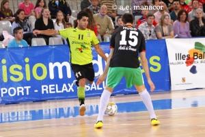 Javi Rodríguez (Fisiomedia Manacor) contra InterMovistar
