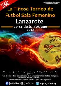 La Tiñosa Torneo de Fútbol Sala Femenino en Lanzarote
