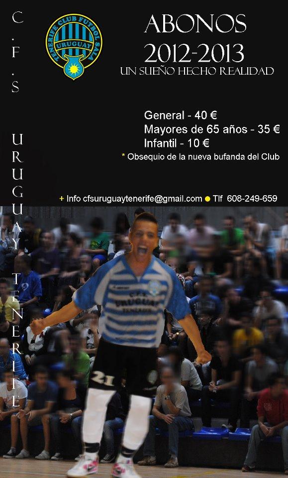 CFS Uruguay Tenerife Campaña Abonados 2012-13