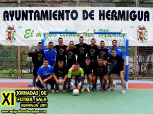 El Peñon FS en las XI Jornadas de Hermigua 2011