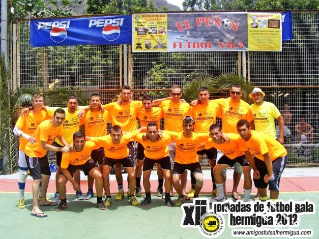 El Peñón Fútbol Sala de Hermigua La Gomera