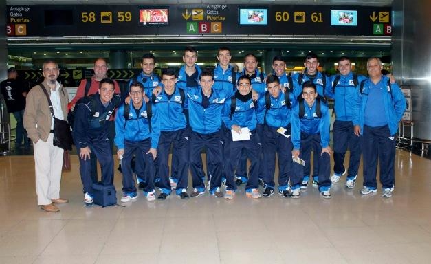 Selección Canaria Juvenil de Fútbol Sala 2012