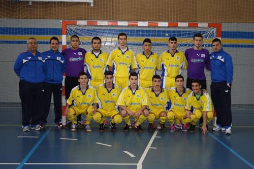 Selección Fútbol Sala de Canarias Sub-19 - 2012