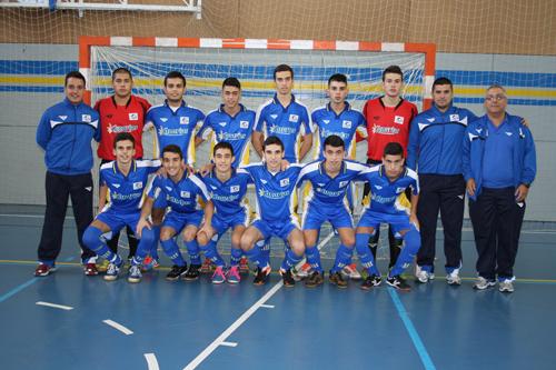 Selección Fútbol Sala de Canarias Sub-19 – 2012 AZUL