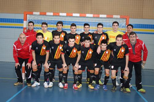 Selección Fútbol Sala de Cataluña Sub-19 – 2012