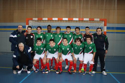 Selección Fútbol Sala de el País Vasco Sub-19 - 2012