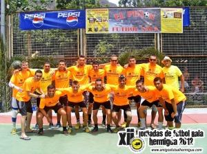 El Peñón Fútbol Sala en la edición 2012 del torneo de Hermigua
