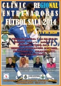 Clinic Regional de Entrenadores de Fútbol Sala 2014