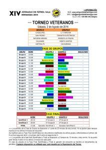 Torneo Veteranos 2014