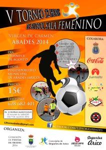 V Torneo de Abades de Fútbol Sala Femenino 2014