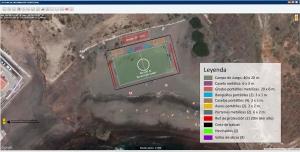 Croquis Campo Futbol Playa de Abades