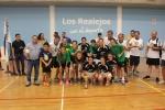 III COLUMNAS de Ciudad Rodrigo - Salamanca con el trofeo de campeonas