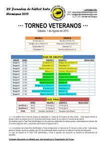 Torneo Veteranos 2015