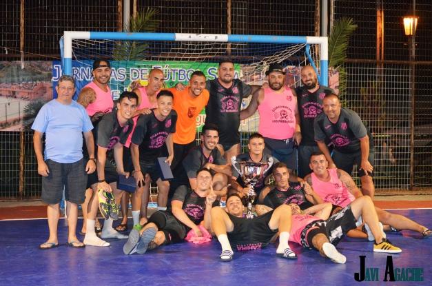 Santa Clara Guachinche Los Parrandas FS - campeón de las XVII Jornadas de Fútbol Sala de Hermigua 2017