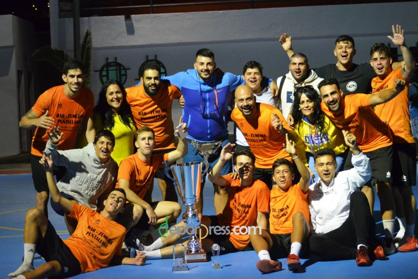 2018 - Atlético Puntallana Campeón en Hermigua
