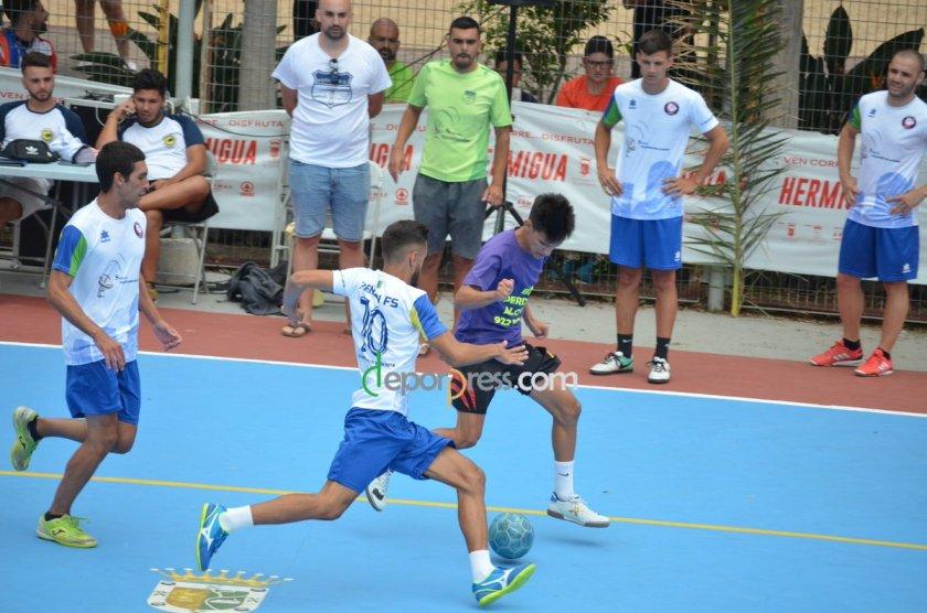 2018 - Momento del partido entre Peñón y Alojera