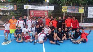 Foto de Familia del Torneo Veteranos - Naviera Armas y China Veteranos 2018