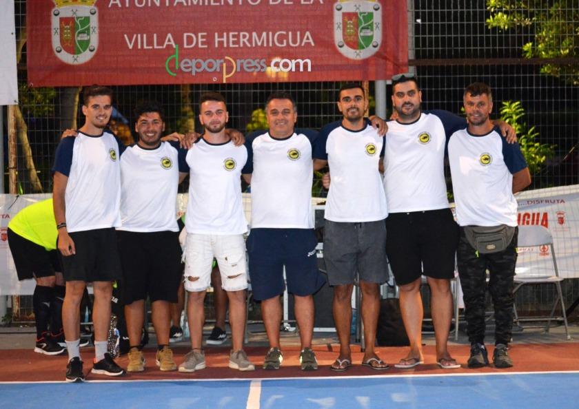 Organizacion 2018 Amigos del Futbol Sala de Hermigua