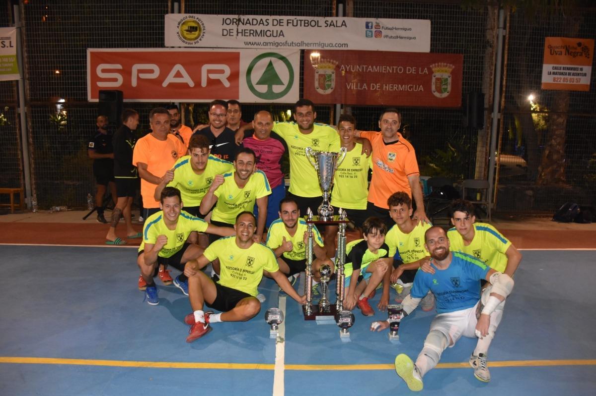 1-3 El Palmar FS vence en las XIX Jornadas de Fútbol Sala de Hermigua2019